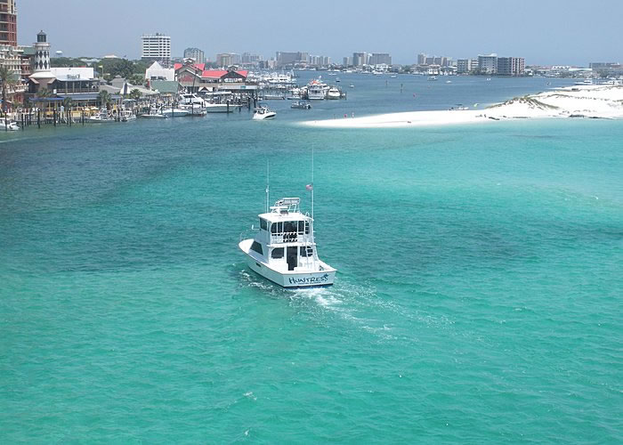 Deep Sea Fishing Destin Florida Charter Boat Huntress